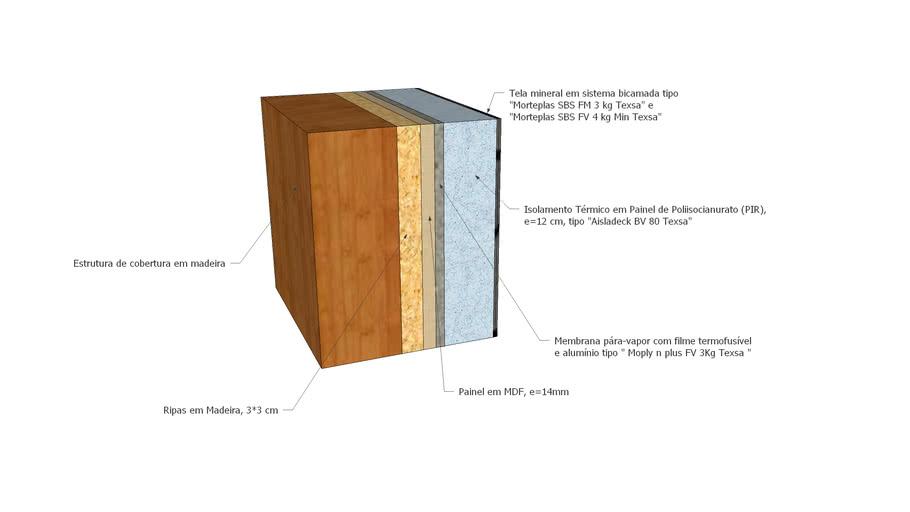 Solução Construtiva - Cobertura A1