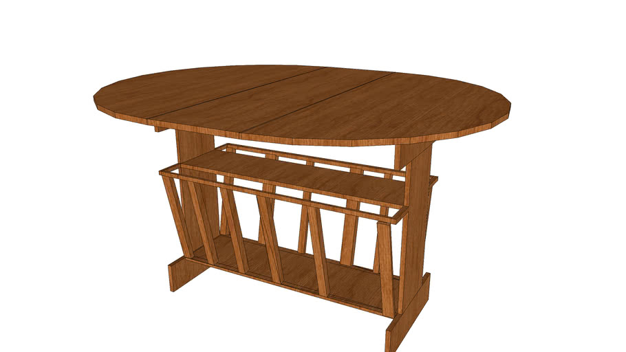 Table-with-magazine-rack