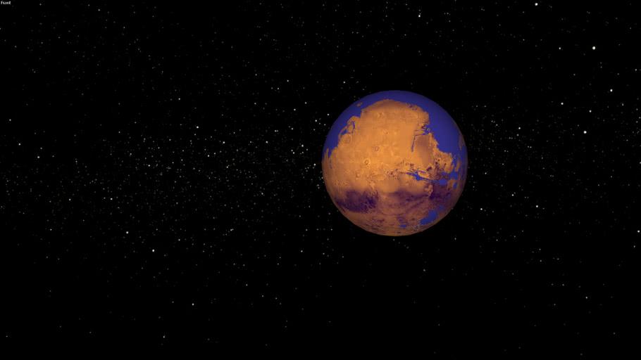 Mars - Terraformed