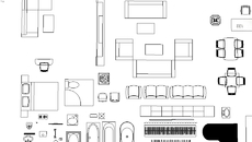 model furniture 2d