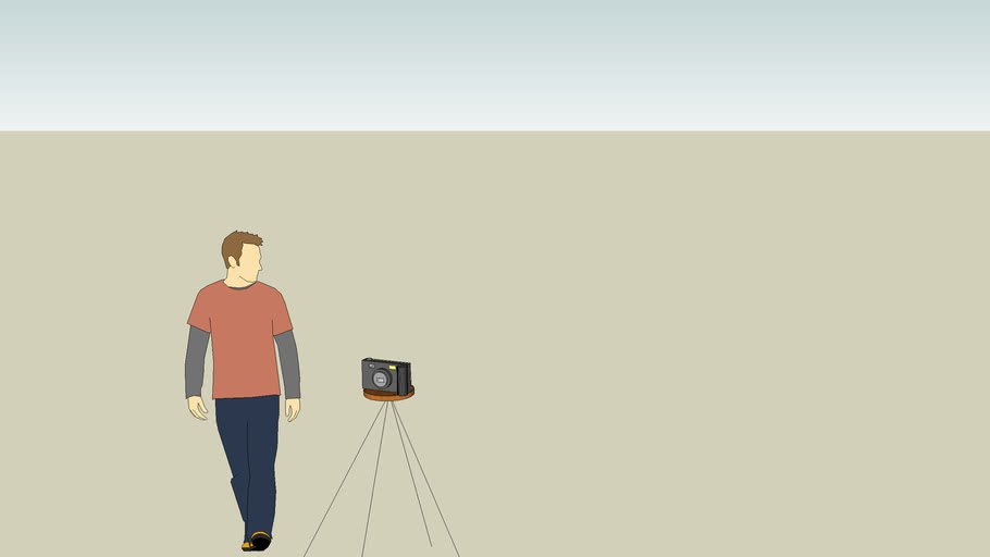 Digital Camera on Quadpod
