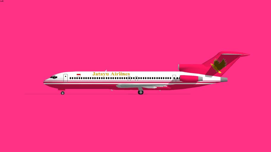 Jatayu Airlines Boeing 727-200 2