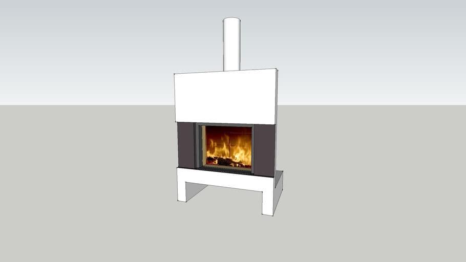 Contemporary fireplace Stuv 21/95