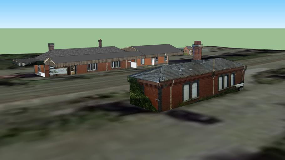 Badminton Railway Station, South Gloucestershire