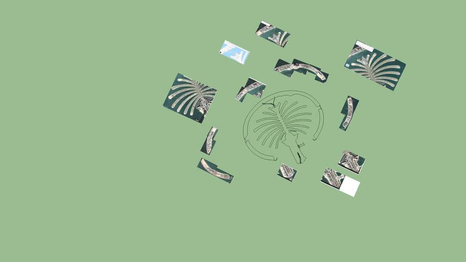 delimitacion palm jumeirah