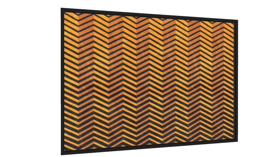 Quadro Linhas Amarelas  - Galeria9, por Renato Kolberg