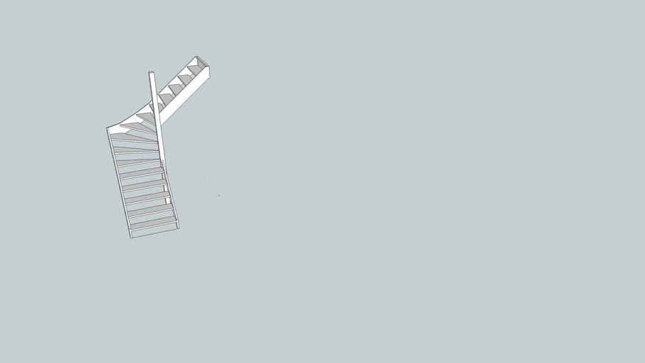 Middenkwart trap