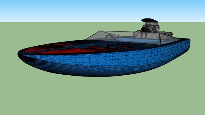 redfire boat
