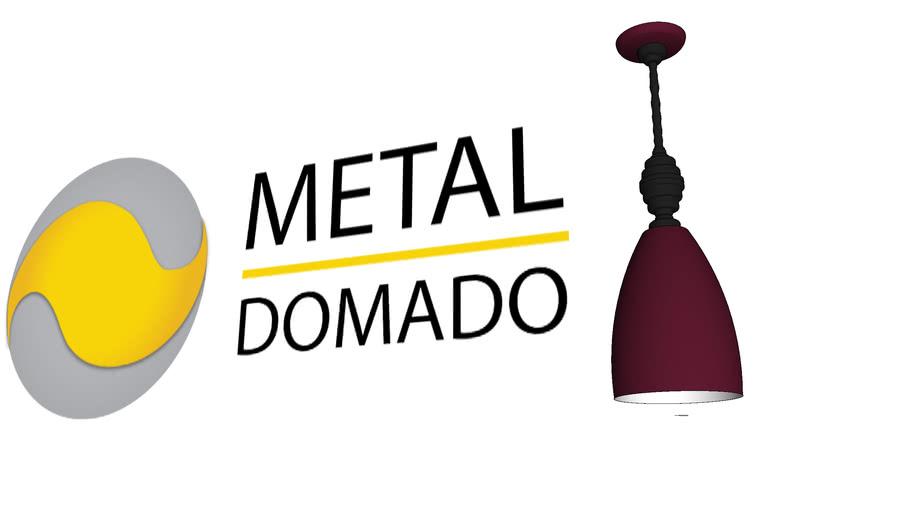 PENDENTE CANDAR 5445 - METAL DOMADO ILUMINAÇÃO