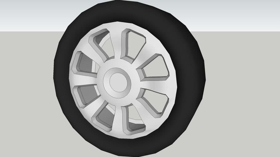 Custom Alloy Wheel 22