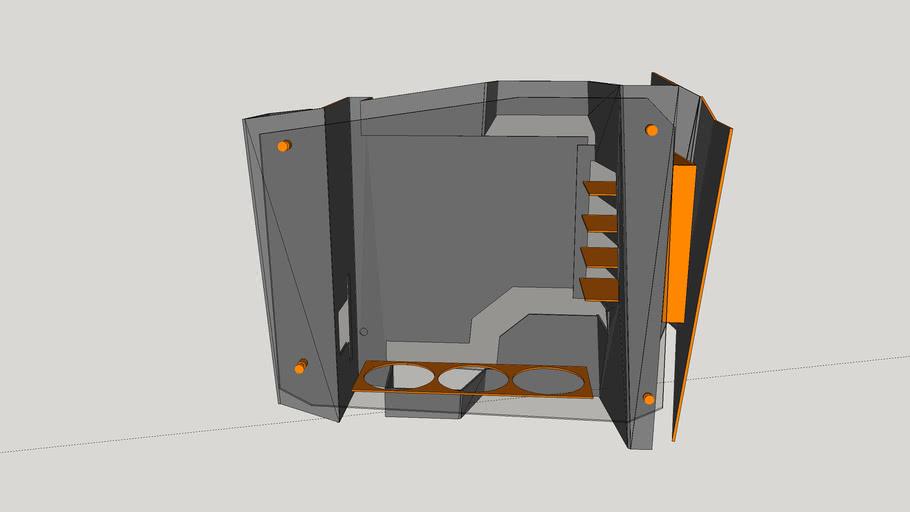 In Win S-Frame Chassi - Auxilium Design