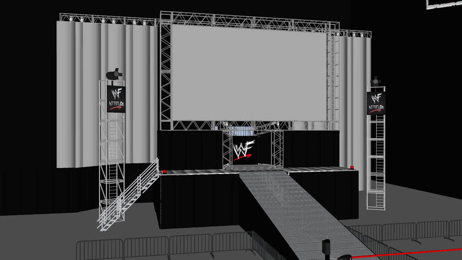 Wwf Raw Is War 3d Warehouse