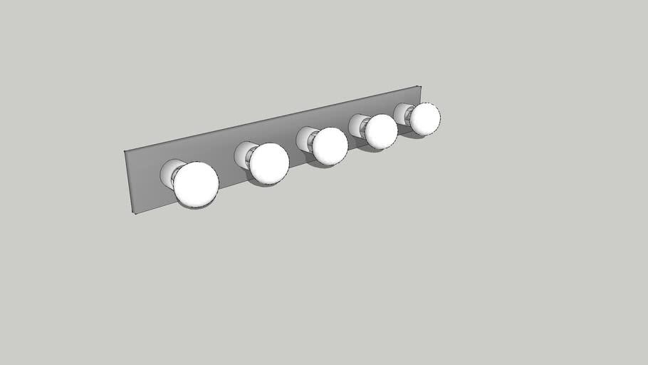 Simple Bathroom Vanity Light
