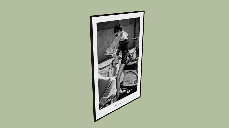 "BRODZIAK ""Poster #09"" 100x70 cm - Black&White, Photography, Image, Picture"