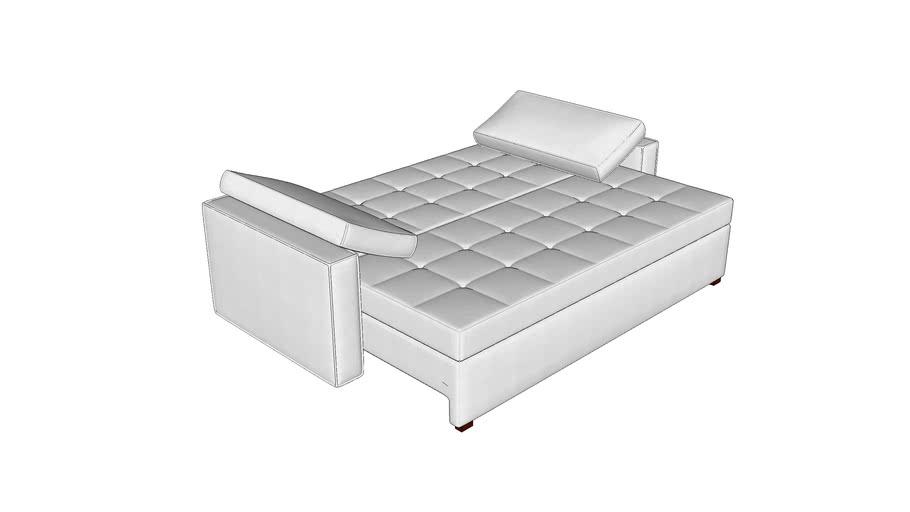 Sofá cama Fiji (aberto)