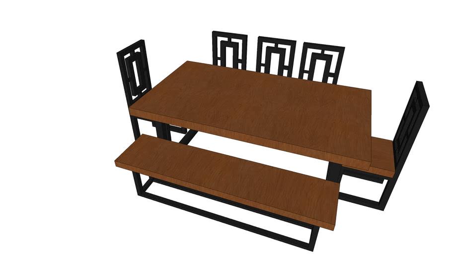 dining set bench