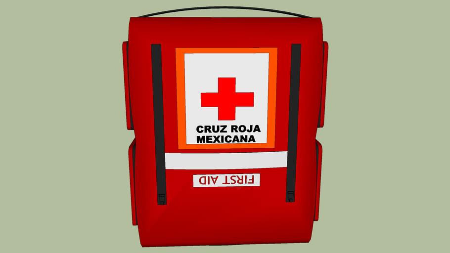 First Aid Kit  NOTIQUIN DE CRUZ ROJA MEXICANA