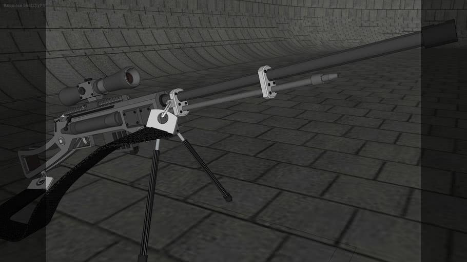 RDMN-KB 50 Cal Sniper Rifle