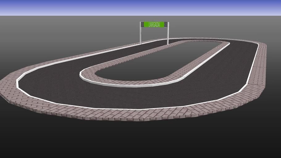 pista oval
