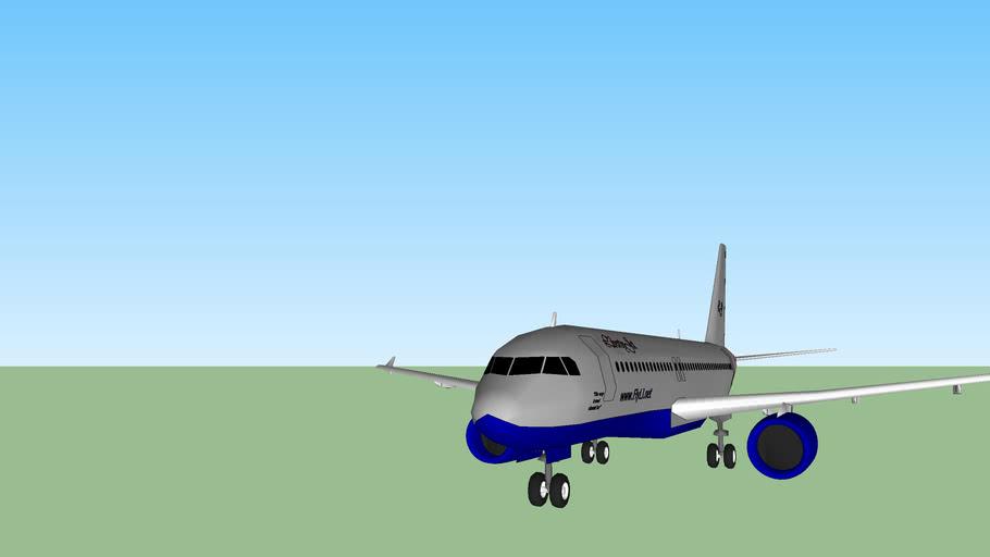 LibertyJet A320 (fictional)