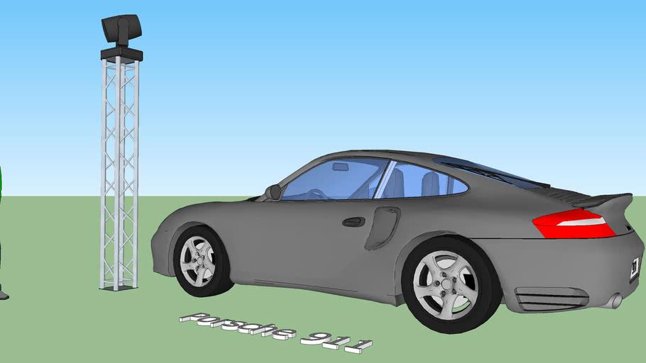Stand expo Porsche 911 - www.tony-grouard.com