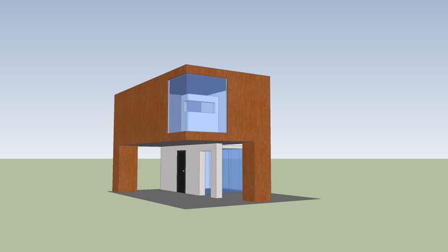 casa moderna pra casal