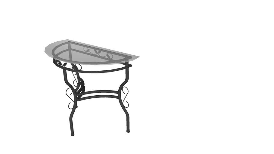 Table fer forgé