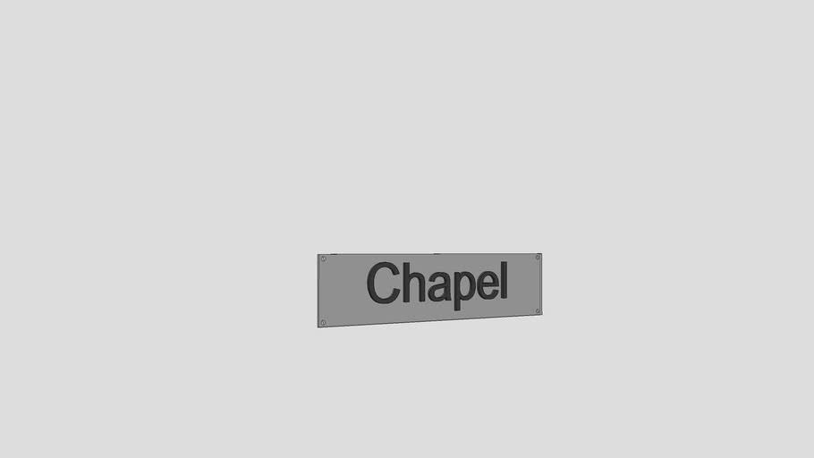 Chapel Signage
