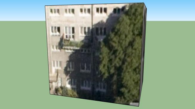 Budynek przy Narbutta 37 Warszawa, Polska