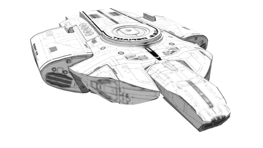 USS Defiant (unfinished)