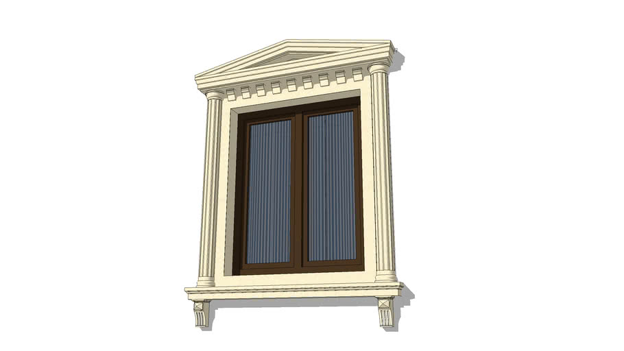Exterior Window Trim Ideas 3d Warehouse