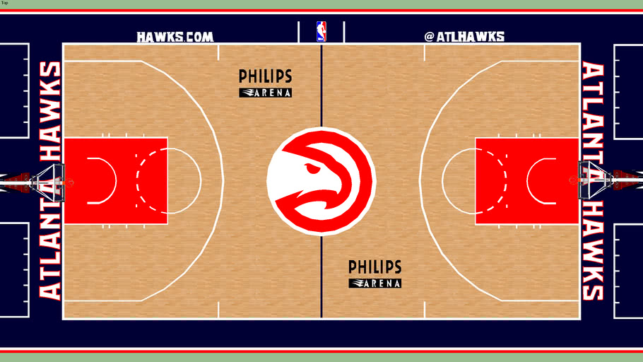 Atlanta Hawks Court
