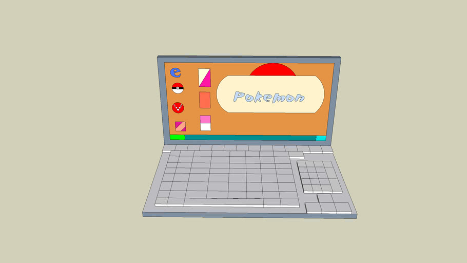 Pokemon Laptop