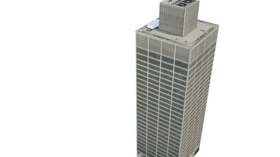 Building in Detroit, MI, USA