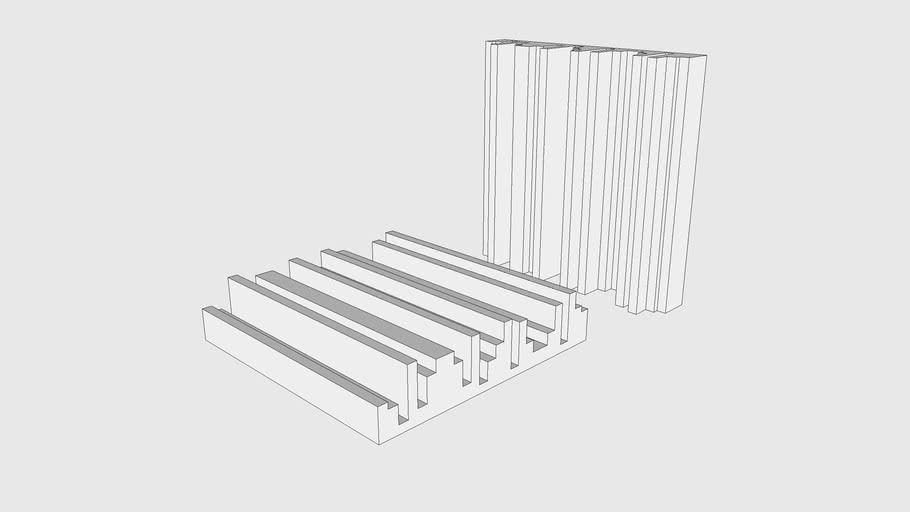 Skum Acoustics - Kontur - QRD Diffuser