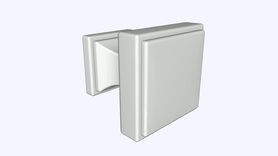 Brownstone Knob 1-1/8 Inch Square by Belwith Keeler™