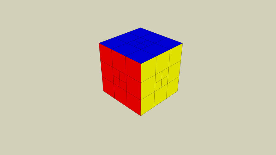 its the... Rubiks Sketchup Cube!