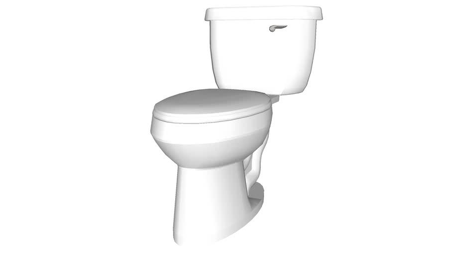 Toilet 1 - Detailed