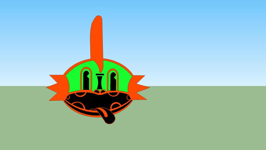 Mudkip's Orange Haring Tiki