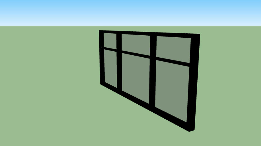 Modern window (medium)