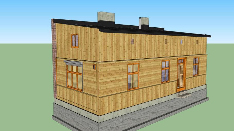 Projekt mojego domu drewnianego