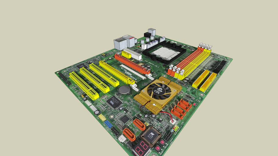 Epox 9NPA+ SLI motherboard