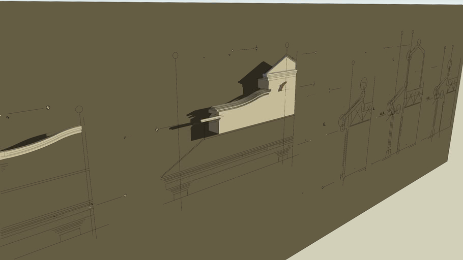 From a 2D Drawing to 3D Elevation