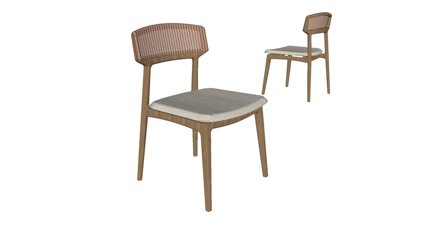 Cadeira Thuane - sem braços