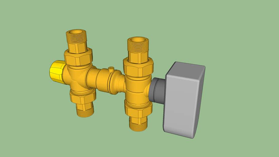 Kit di collegamento solare-caldaia senza integrazione termica - Solar-boiler connection kit