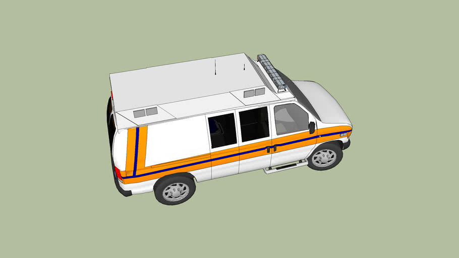 ambulance type ll ford f350 esonoline super duty mod 2007
