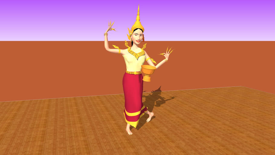Lao Theather Dancer