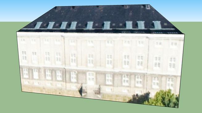 Byggnad på Köpenhamn, Danmark