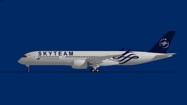 Garuda Indonesia Airbus A350-900XWB Skytean