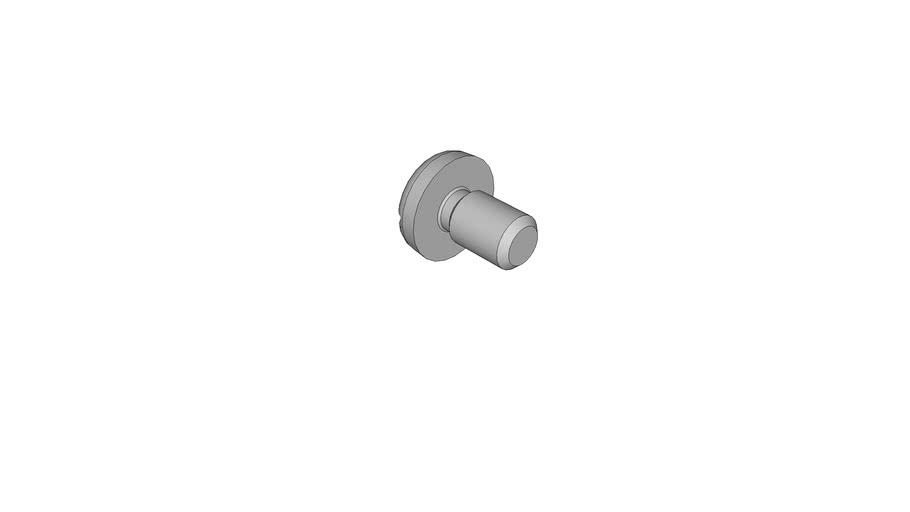 07030413 Slotted pan head screws DIN 85 AM2.5x4